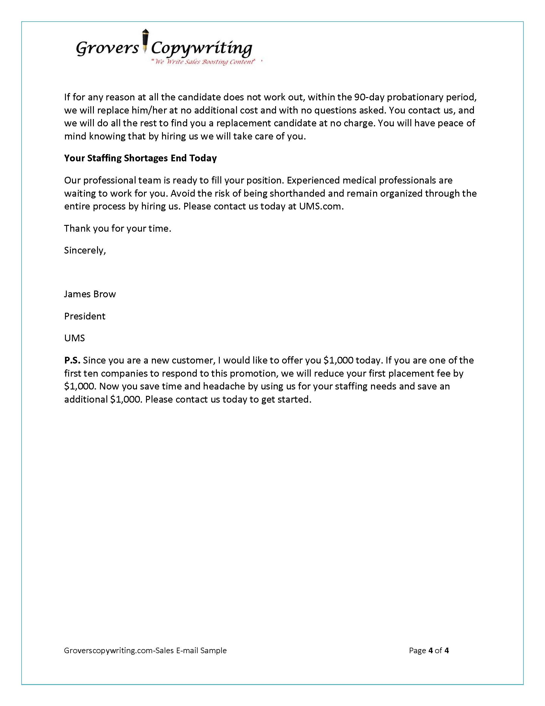 Sales Appointment Letter Format Pdf Counter Offer Letter Sample