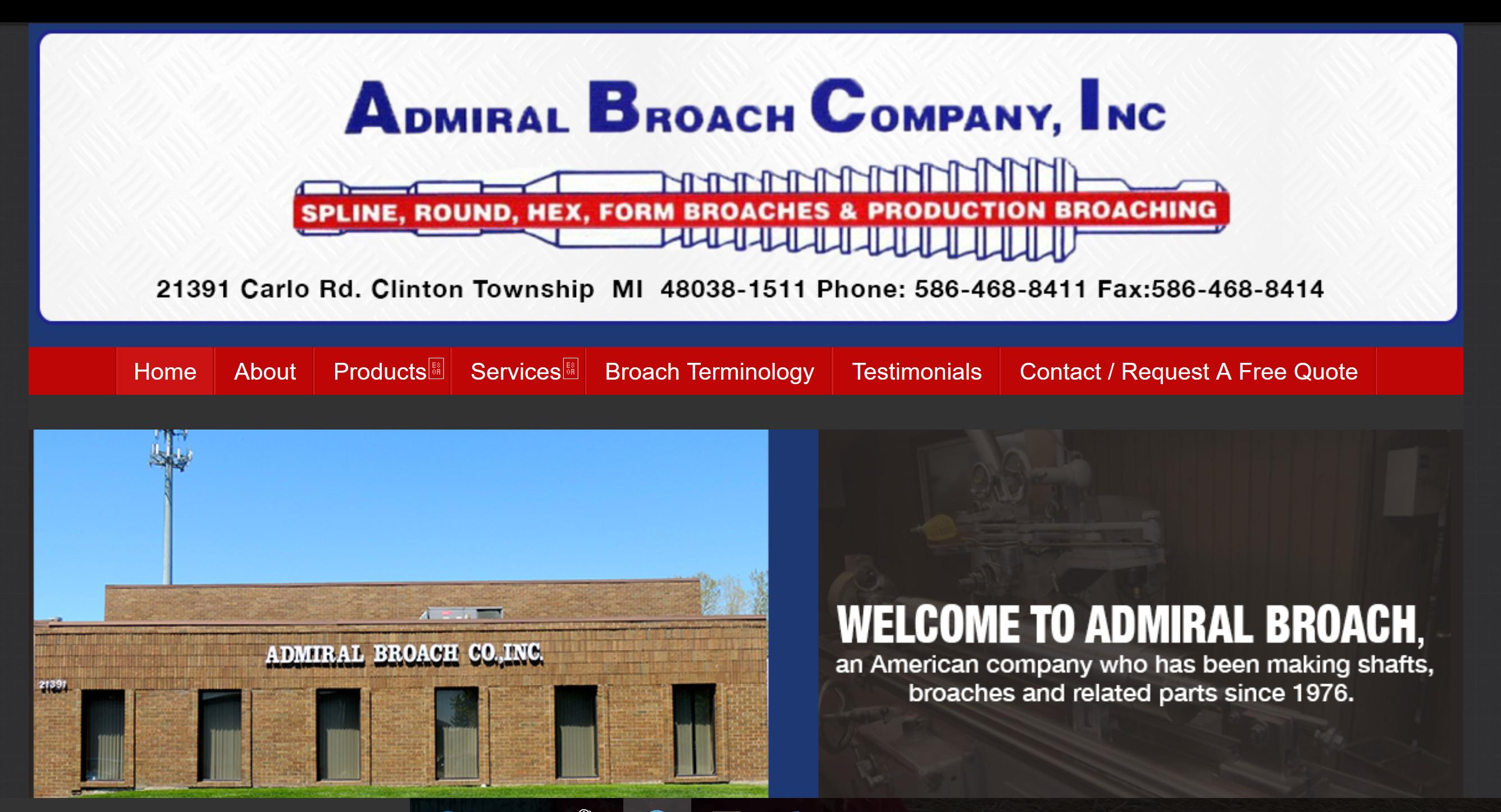 Admiral Broach Company, Inc.